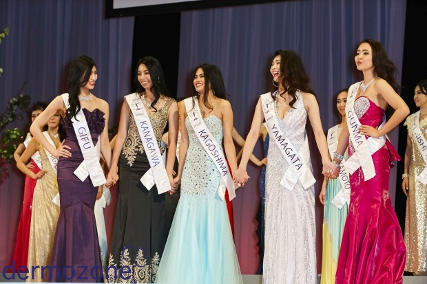 Qanamy Girls at Miss Supranational Japan 2016