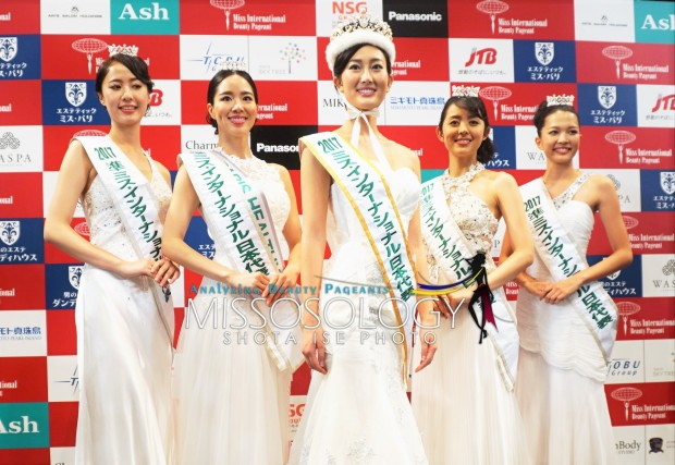 Qanamy Girl is Miss International Japan 2017